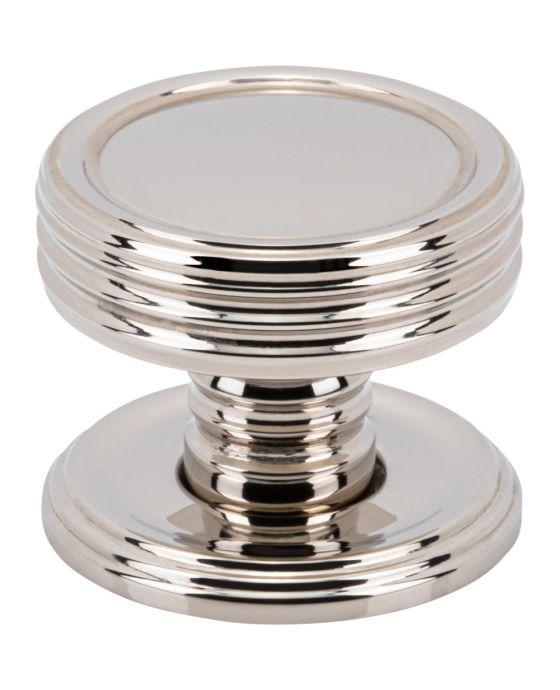 Divina Knob 1 Inch Polished Nickel