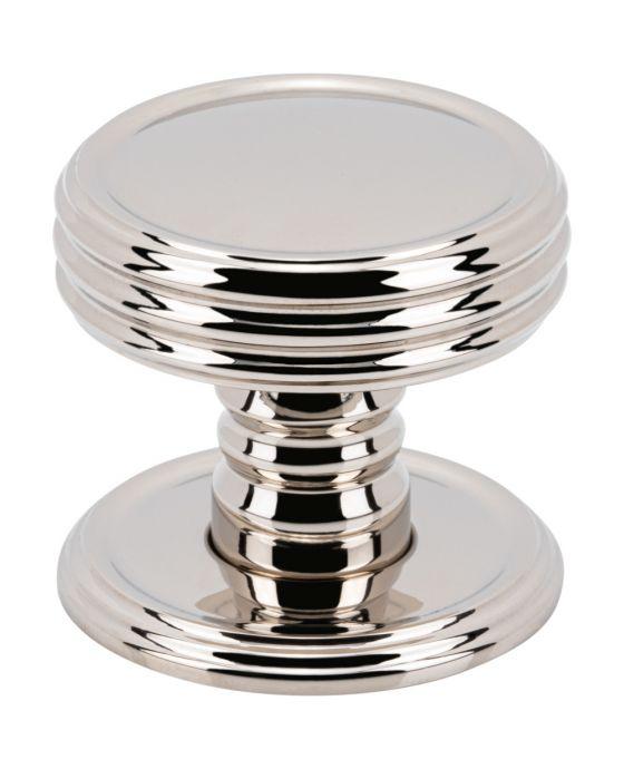 Divina Knob 1 1/4 Inch Polished Nickel