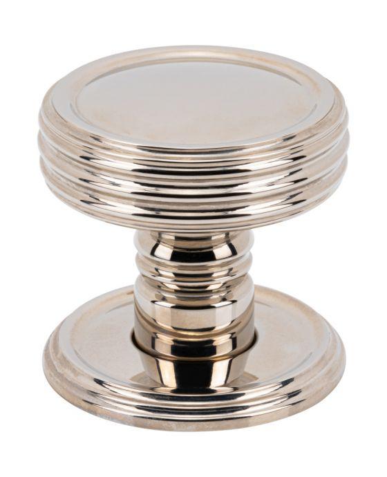 Divina Knob 1 1/2 Inch Polished Nickel