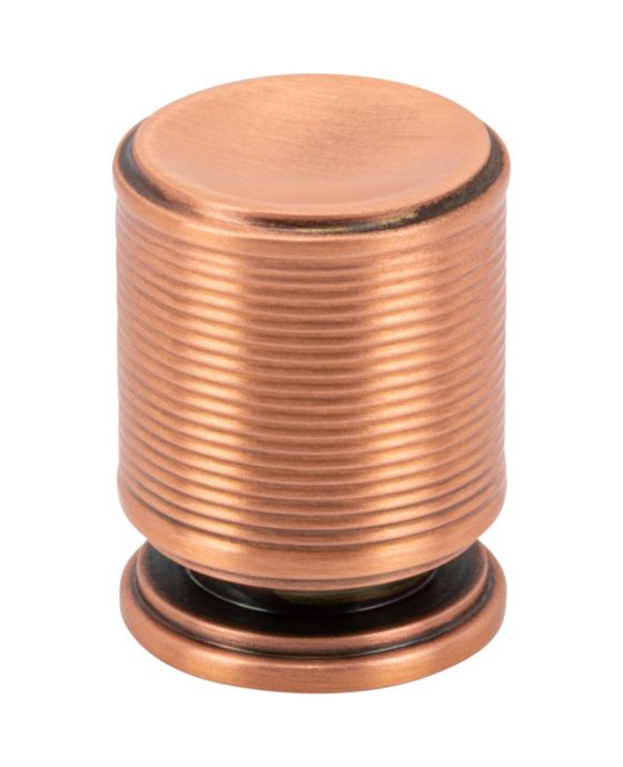 Vibe Knob 3/4 Inch Brushed Copper