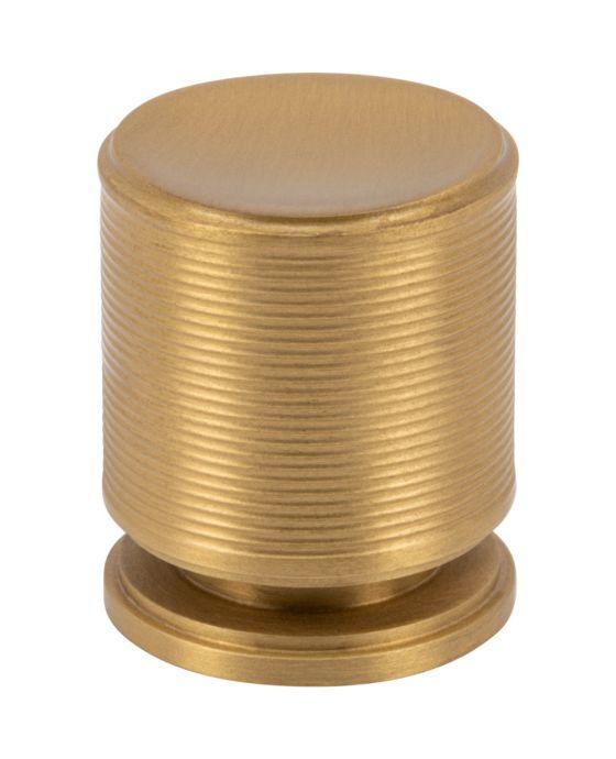 Vibe Knob 1 Inch Satin Brass