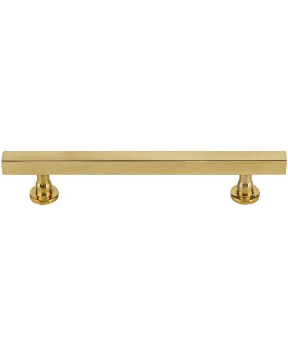Dante Pull 5 1/16 Inch (c-c) Unlacquered Brass
