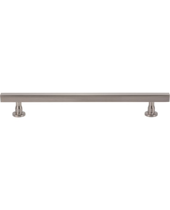 Dante Pull 7 9/16 Inch (c-c) Brushed Satin Nickel