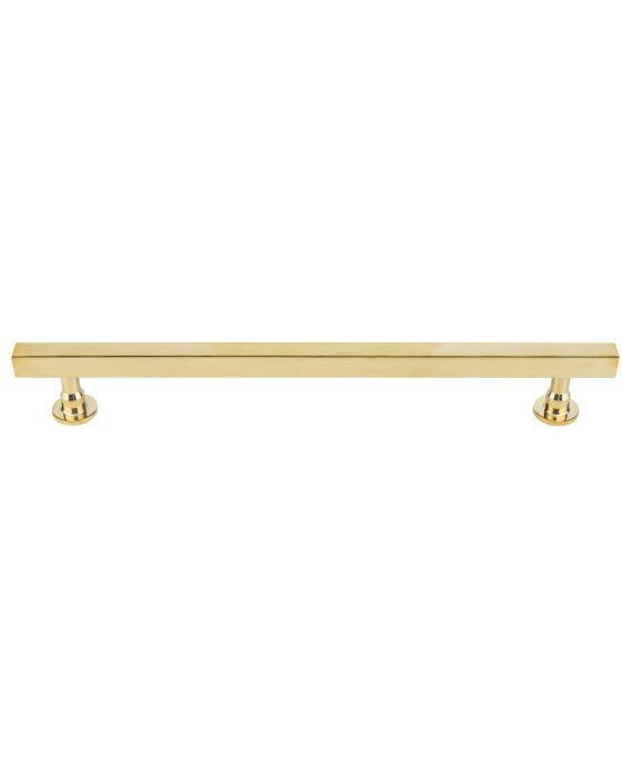 Dante Appliance Pull 12 Inch (c-c) Unlacquered Brass
