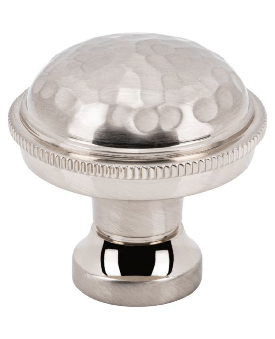 Artworth Knob 1 1/4 Inch Brushed Satin Nickel