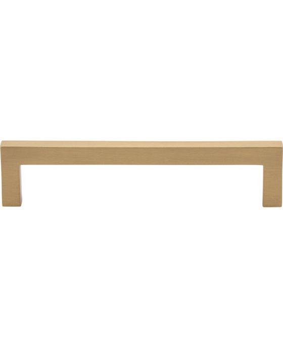 Simplicity Bar Pull 5 1/16 Inch (c-c) Satin Brass