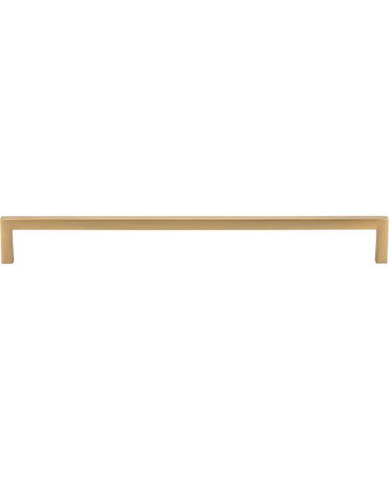 Simplicity Bar Pull 12 Inch (c-c) Satin Brass