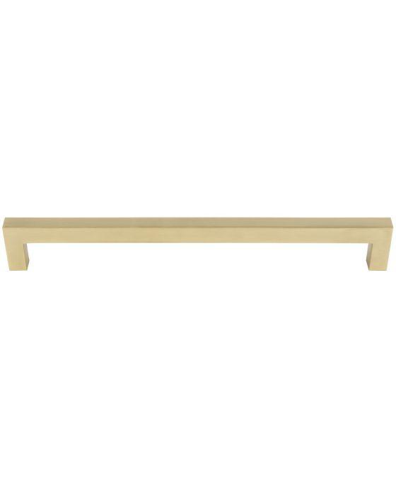 Simplicity Bar Appliance Pull 18 Inch (c-c) Satin Brass
