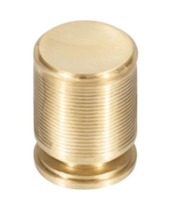 Vibe Knob 3/4 Inch Satin Brass