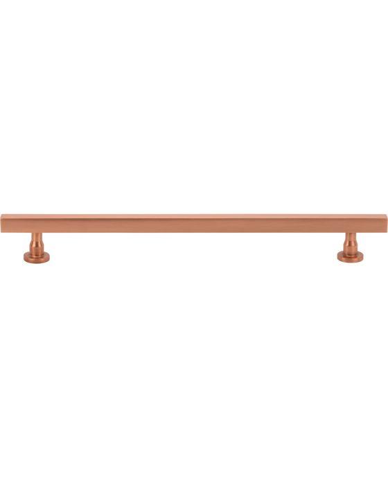 Dante Pull 8 13/16 Inch (c-c) Satin Copper
