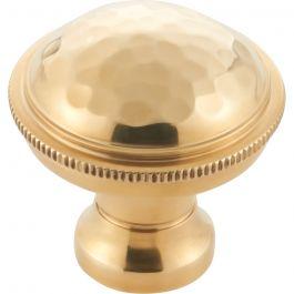 Artworth Knob 1 1/8 Inch Unlacquered Brass