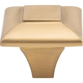 Alston Knob 1 5/16 Inch Satin Brass