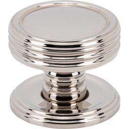 Divina Knob 1 Inch Polished Nickel