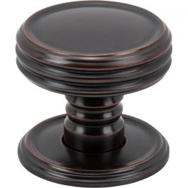 Divina Knob 1 1/4 Inch Oil Rubbed Bronze
