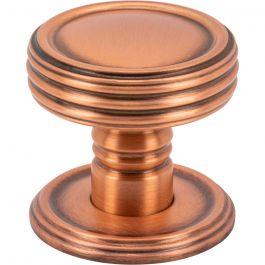 Divina Knob 1 1/2 Inch Brushed Copper