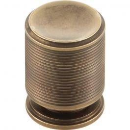 Vibe Knob 1 1/8 Inch Aged Brass