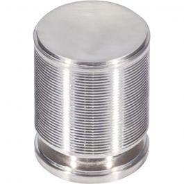 Vibe Knob 1 1/8 Inch Brushed Satin Nickel