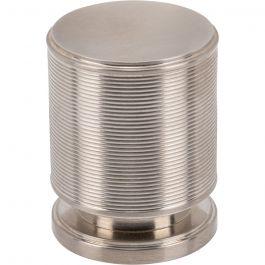 Vibe Knob 1 1/4 Inch Brushed Satin Nickel