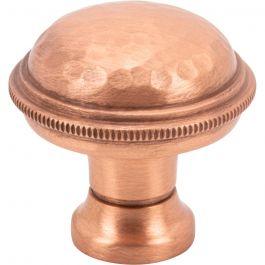 Artworth Knob 1 1/4 Inch Satin Copper