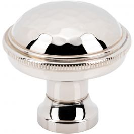 ArtWorth Knob 1 5/16 Inch Polished Nickel
