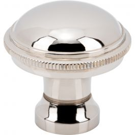Purity Knob 1 1/8 Inch Polished Nickel