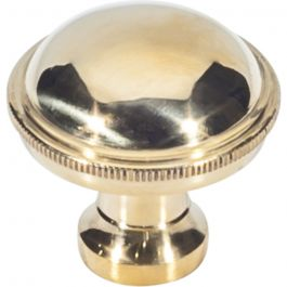 Purity Knob 1 5/16 Inch Unlacquered Brass