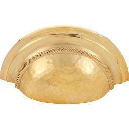 Artworth Cup Pull 3 Inch (c-c) Unlacquered Brass