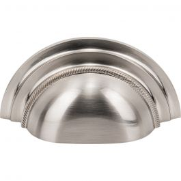 Purity Cup Pull 3 Inch (c-c) Brushed Satin Nickel