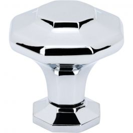 Palazzo Knob 1 3/16 Inch Polished Chrome