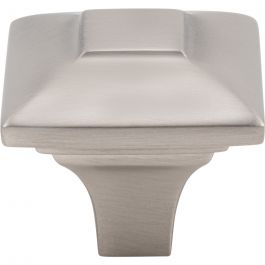 Alston Knob 1 3/16 Inch Brushed Satin Nickel
