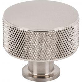 Beliza Cylinder Knurled Knob 1 3/8 Inch Brushed Satin Nickel