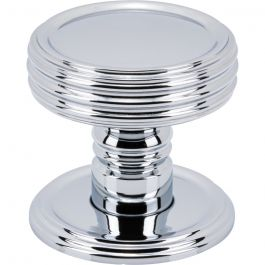 Divina Knob 1 1/2 Inch Polished Chrome