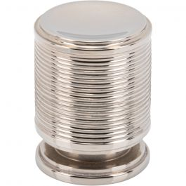 Vibe Knob 3/4 Inch Polished Nickel
