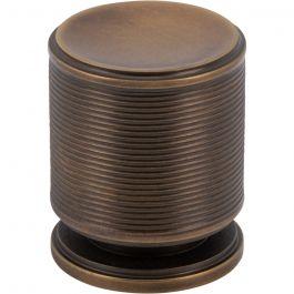 Vibe Knob 1 Inch Aged Brass