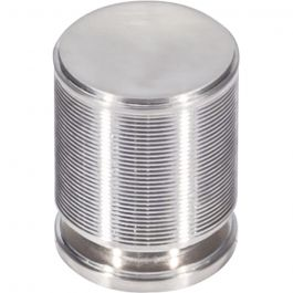Vibe Knob 1 1/8 Inch Brushed Satin Nickel