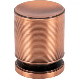 Vibe Knob 1 1/4 Inch Brushed Copper