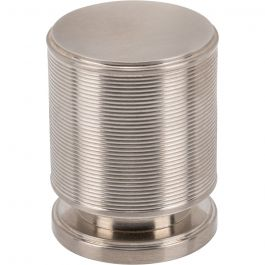 Vibe Knob 1 1/4 Inch Brushed Satin Nickel