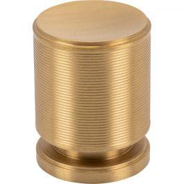 Vibe Knob 1 1/4 Inch Satin Brass