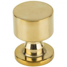 Dante Knob 1 Inch Unlacquered Brass
